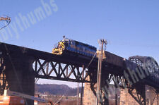 Four VTG 35mm Color Photo Slides AWVR Allegheny West Virginia Locomotive 1206 WV