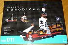 Pirate Ship Nanoblock Micro-Sized Building Block Construction Toy NBM-011 Mini