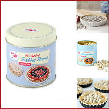 700G Ceramic Baking Beans + TIN Tala Pie Weight Beads Re-Usable Oven Bake Peas