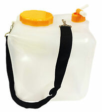16 Litre COLLAPSIBLE FOLDING WATER CARRIER FOOD SAFE DRINKS CONTAINER camping
