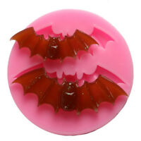 Halloween Bat Chocolate Silicone Mould DIY Fondant Cake For Baking Tool Hw