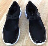 Women Ladies Black Orthopaedic Diabetic lightweight shoes Memory Foam Shock Size