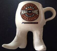 Amazing Cool Country Music Hall Of Fame Figural Coffee Mug FREE SHIPPING!!!