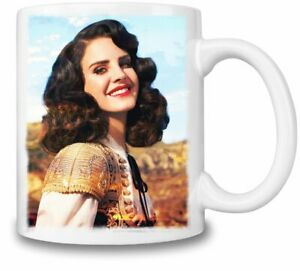 Lana Del Rey Beauty themed 11oz Ceramic coffee Mug Birthday gift.