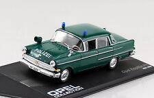 Opel Kapitän P2 Polizei 1959-1964 1:43 IXO / Altaya Modellauto
