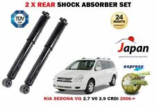 FOR KIA SEDONA VQ 2.7 V6 2.9 CRDi 2006--> 2 X REAR LEFT RIGHT SHOCK ABSORBER SET
