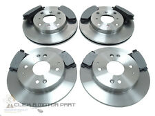 MTEC Rear Brake Discs /& Pads for Honda Prelude 2.0 2.2 2.3 01 92-03 97