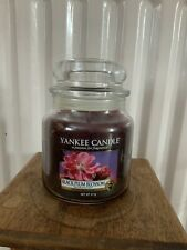 RETIRED HTF Yankee Candle fruit BLACK PLUM BLOSSOM Jar 411g RARE