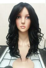 Black Human Hair Wig, Real Hair, Hair Blend, real hair, short, curly