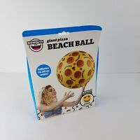 """Giant 20/"""" Pizza Pie Inflatable Beach Ball BigMouth Inc Pool Party Water Toy"""