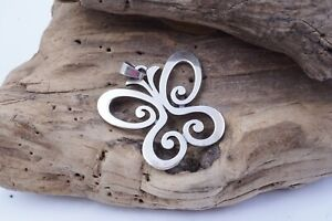 JAMES AVERY Retaired Sterling Silver LARGE SPRING BUTTERFLY Pendant