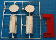 1/8 Scale: Chrome Gas Tank/Cap and Mounting Platform ( for Big Rod replacement)