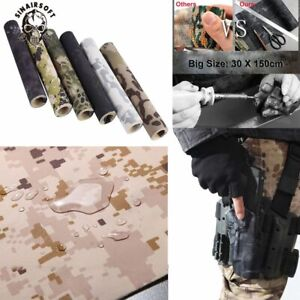 Elastic Self-adhesive Camouflage Cloth Stretchy Paster Hunting WRAP Stealth Tape
