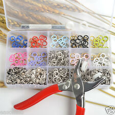 inBox 150 Set 9.5mm 10 Color Prong Ring Press Studs Snap Fasteners w/Pliers Tool