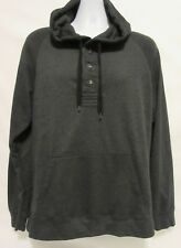 Howe Creative Workforce Mens Size Large Pullover Sweater Hoodie Gray Grey Shirt