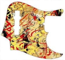 J Bass Pickguard Custom Fender Graphical Graphic Guitar Pick Guard Abstract 1