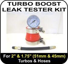 "TURBO BOOST LEAK TESTER Fits 2"" & 1.75"" (51 & 45mm) Intercooler Pipe Pressure"