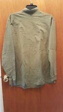men medium Bill Blass olive green Mock Turtleneck 100% cotton