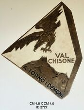 """Alpini Val Chisone Regio Esercito distintivo di reparto prod. F.M.Lorioli  """"2727"""" 689e3b5bffd1"""