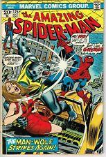 Amazing Spider Man #125 (1963) - 2.0 Gd *Wolfhunt/Man-Wolf Origin*