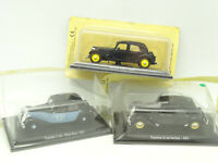 UH / Norev Presse 1/43 - Lot de 3 Citroen Traction F