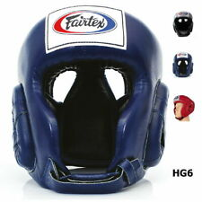FAIRTEX HEADGUARD HG6 COMPETITION MUAY THAI KICK BOXING MMA HEADGEAR MEDIUM M