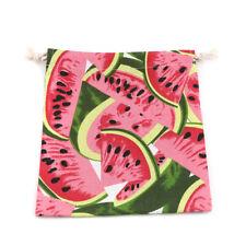 Watermelon Pattern Travel Laundry Shoe Pouch Drawstring Anti-Dust Storage Bag SM