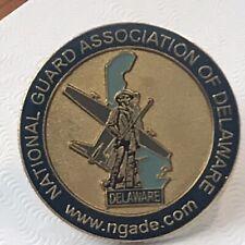 Hat Pin Lapel pin - Delaware National Guard - NGADE Plane DE