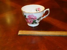 Vintage Queen Anne Pink Roses,Floral Tea, Coffee, cup, Mug, # 8217, Bone China