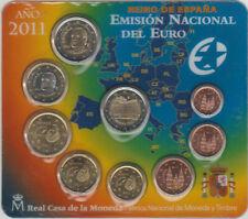 SPANJE BU SET 2011 MET EXTRA 2 EURO GRANADA