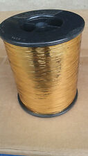 Bobine de fil lurex or  BOBINE / CONE  doré métallique LUREX cone  industriel