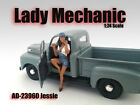 LADY MECHANIC JESSIE FIGURE 1:24 SCALE DIECAST MODEL CARS AMERICAN DIORAMA 23960