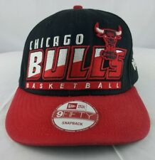 Chicago Bulls Slice and Dice Black Red White New Era 9Fifty Snapback Hat