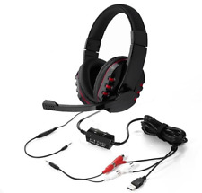 Professional Stereo Gaming Headset for PS4 XBOX360 PS3 PC TV