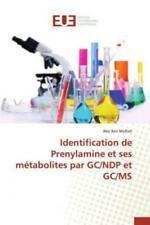 Identification de Prenylamine et ses métabolites par GC/NDP et GC/MS  2865