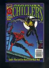 Marvel Chillers Spider-man and the Mark of the Man-Wolf with poster Cbx201