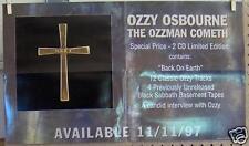 "Ozzy Osbourne ""The Ozzman Cometh"" 14""x24"" Promo Poster"
