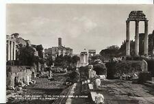 Italy Postcard - Roma - Foro Romano - La Via Sacra Con I Templi di Castore AB521