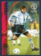 PANINI WORLD CUP 2002- #027-ARGENTINA & LAZIO-HERMAN CRESPO