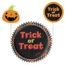 Wilton Halloween Cupcake Combo Hornear Conjunto casos & picks Hada Pastel Baking Cups