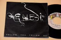 "GENESIS:7"" 45-BALLAD OF BIG/FOLLOW YOU FOLLOW ME-PROG 1°ST ORIG ITALY 1978 EX"