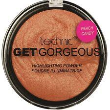 3x Technic Get Gorgeous Highlighting Illuminating Powder Highlighter Peach Candy