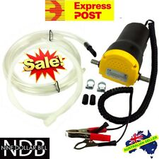 12v Oil Diesel Extractor Transfer Pump Fluid Car Boat Engine EXPRESS & WARRANTY