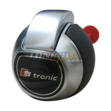Genuine S-Tronic DSG GEAR KNOB Leather Gearshift Knob Smooth Leather for Audi