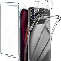 COVER per iPhone 12 Pro Max Mini Silicone Pellicola Vetro Temperato + Fotocamera