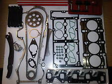 VAUXHALL CORSA COMBO 1.3 CDTi TIMING CHAIN KIT + HEAD GASKET SET + BOLTS & TOOLS