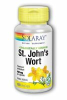 Organically Grown St. John's Wort Solaray 100 VCaps