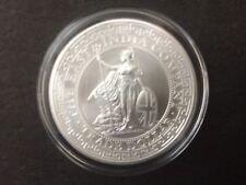 2018 St. Helena 1 oz British Trade Dollar Restrike Silver Bullion coin