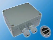 Liane® Aufputz-Funkschalter und Funkhandsender Aussenbereich IP65 | Dunkelgrau