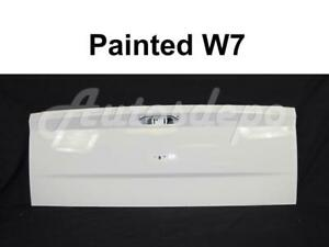 Tailgate Painted W7 White For Dodge Ram 1500 Single Rear Wheel 2009-2018